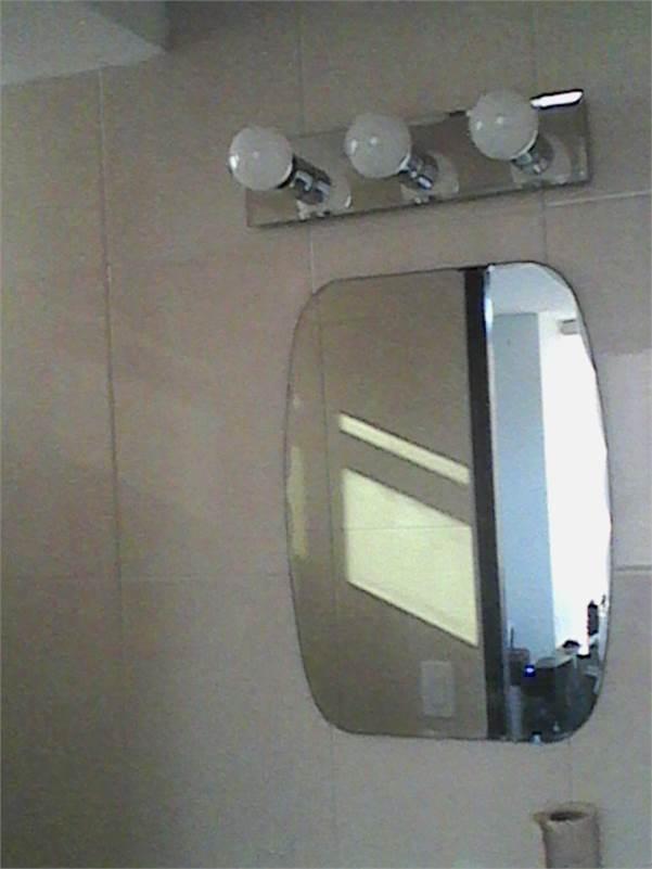 Se vende espejo y lampara de ba o - Lampara espejo bano ...