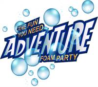 Adventure Foam Party Tosh Spum